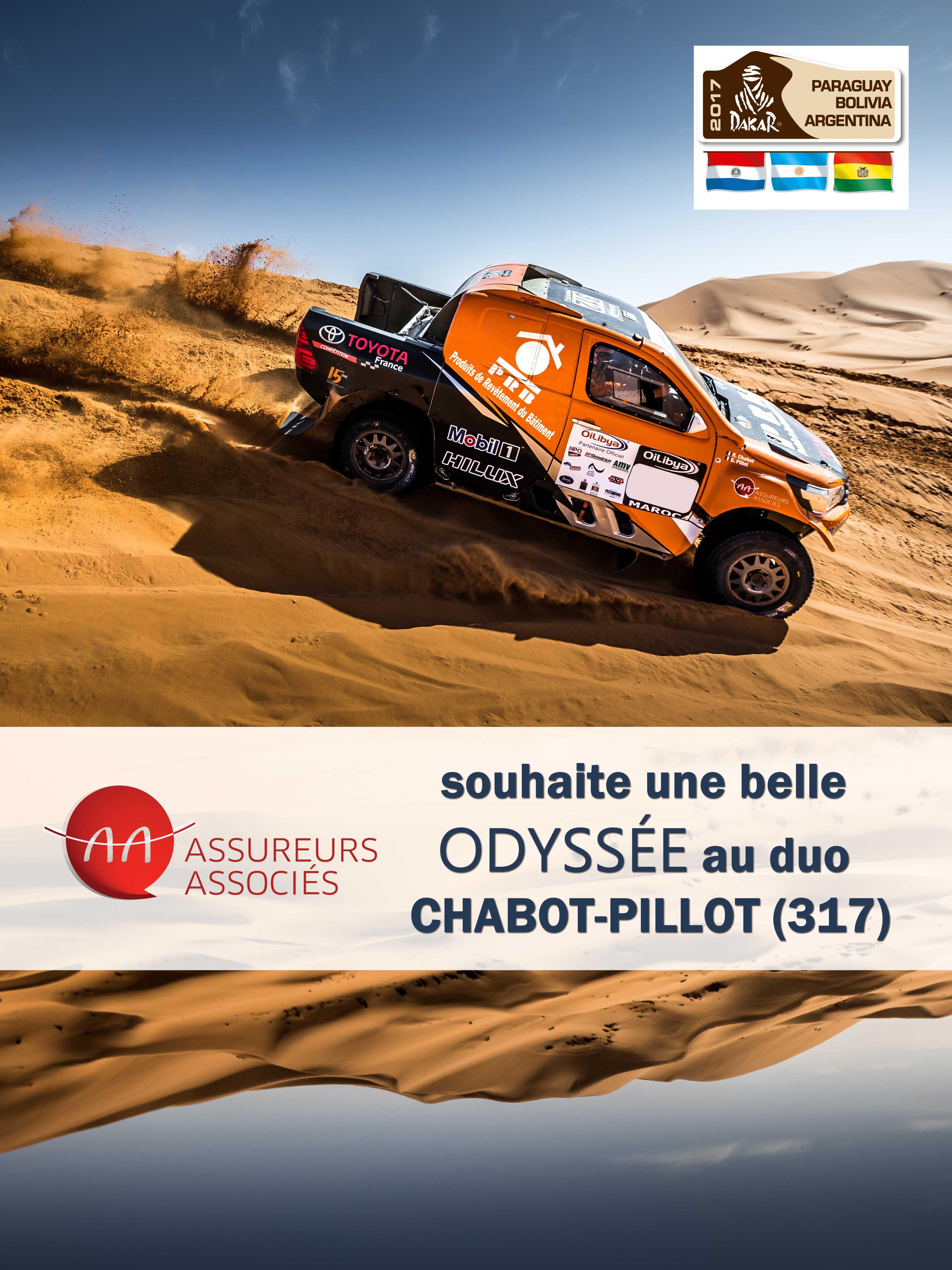 Poster Assureurs Associés Ronan CHABOT et Gilles PILLOT